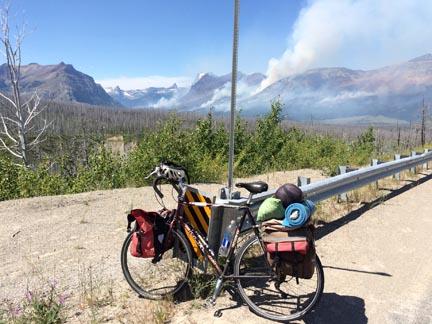 BikeAndWildfires