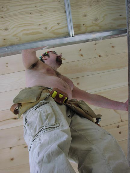 Working on the Ceiling