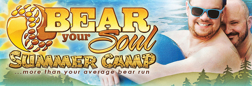 Bear Your Soul Summer Camp Banner