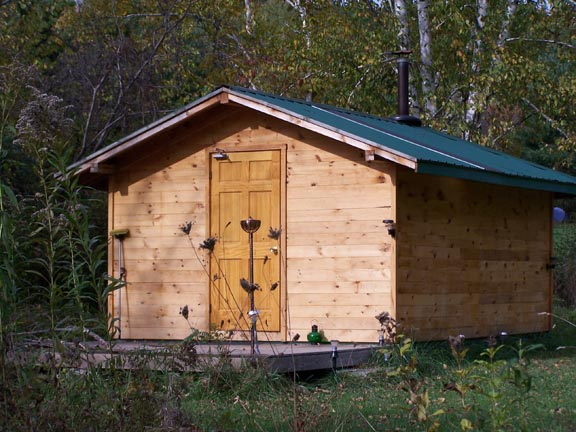 Exterior Of Sauna