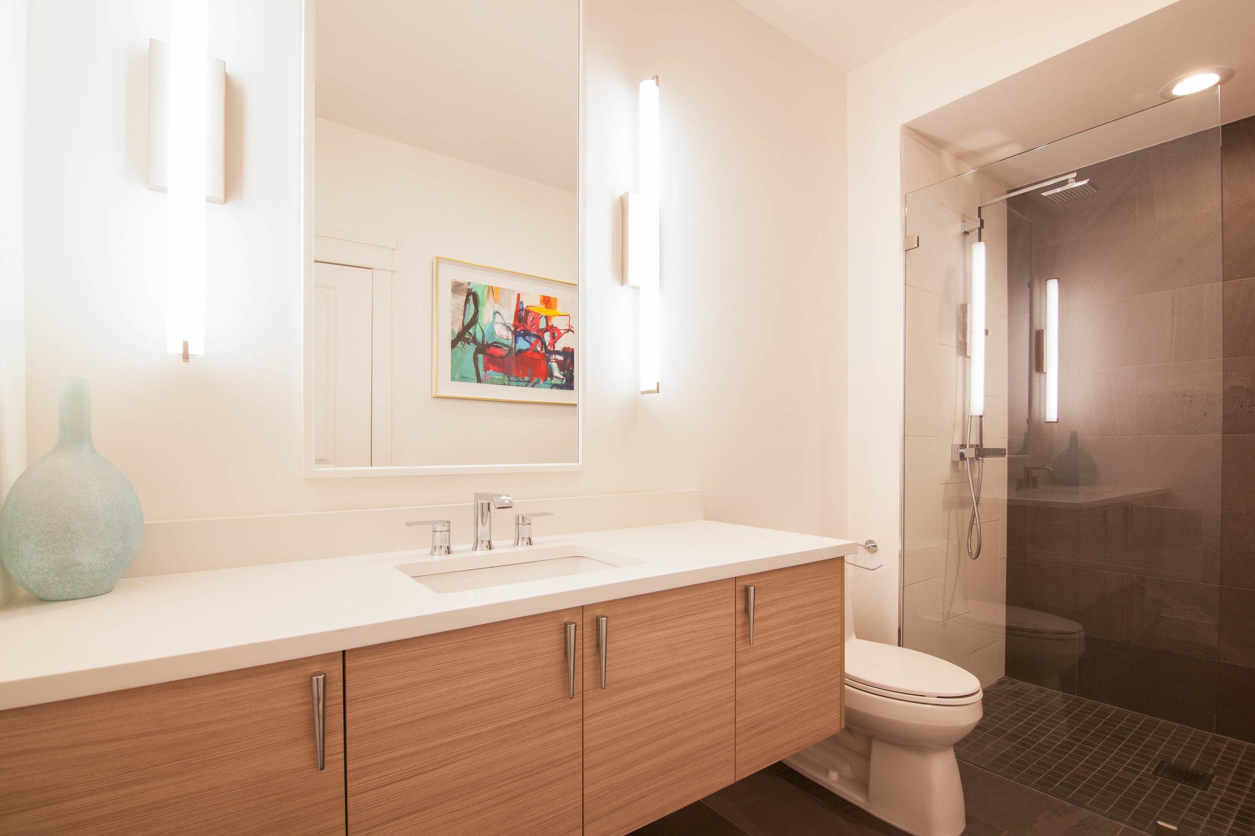 Contemporary Bathroom - Atlanta, GA — Ranney Blair