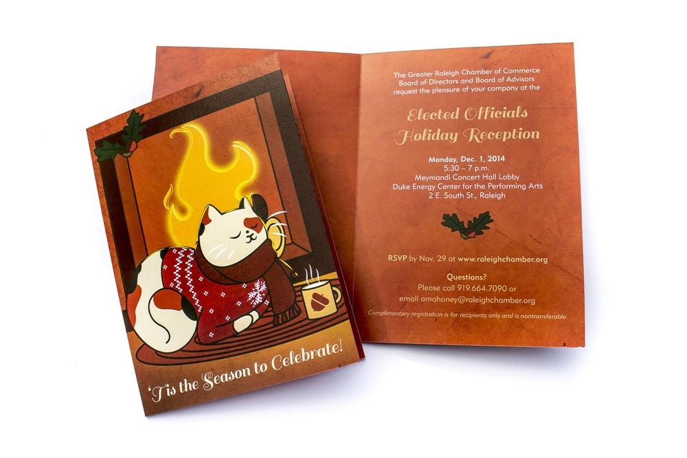 holiday cards paige k design illustration