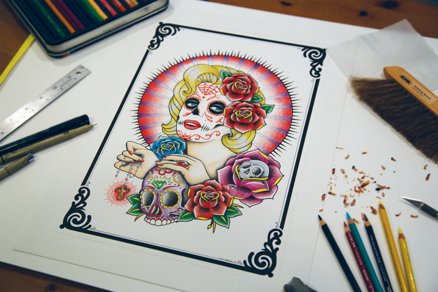 DAY OF THE DEAD MARILYN