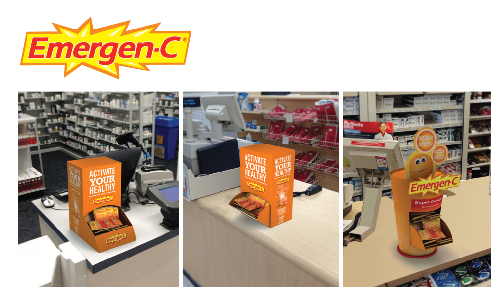 EMERGEN-C COUNTER UNIT