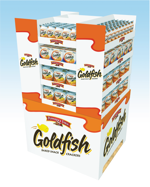 Pepperidge Farms Goldfish Pallet