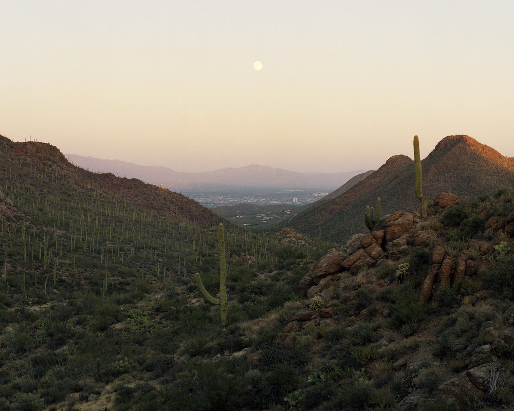 Toward Tucson, Arizona