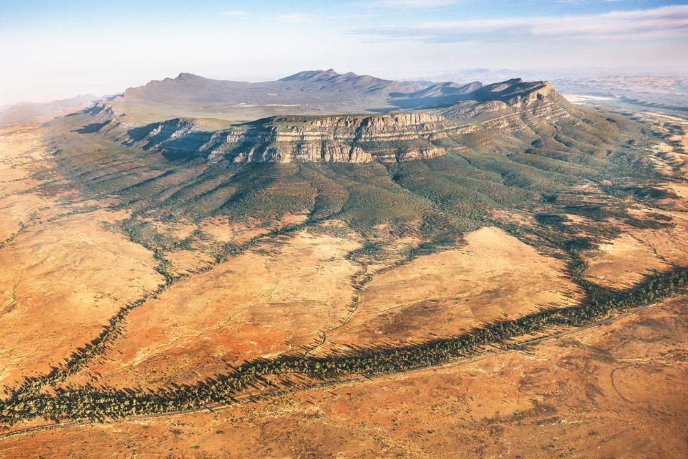 Wilpena Pound: Flinders Ranges, South Australia
