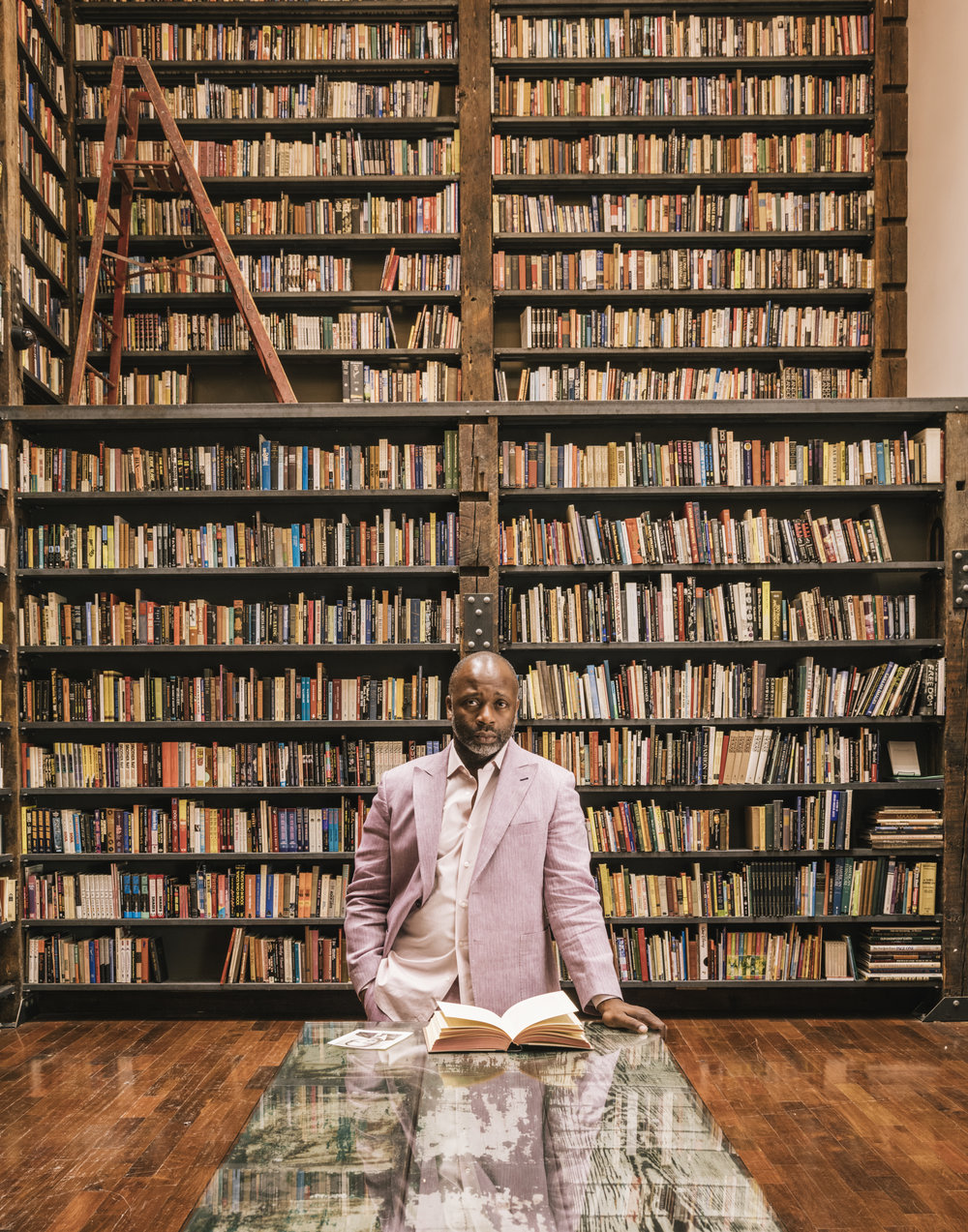 "- At the centre of these projects is the Stony Island Arts Bank, which he bought from mayor Rahm Emanuel for $1 in 2013 and where he has since spent $4.5m (€4m) via fundraising, loans and his own pocket, turning it into a community exhibition centre and library that contains everything from a vinyl collection to books and magazines donated by Johnson Publishing. ""It's the accumulation of a simple commitment to a place,"" says Gates. ""And it's a gesture that the federal government takes note of."""