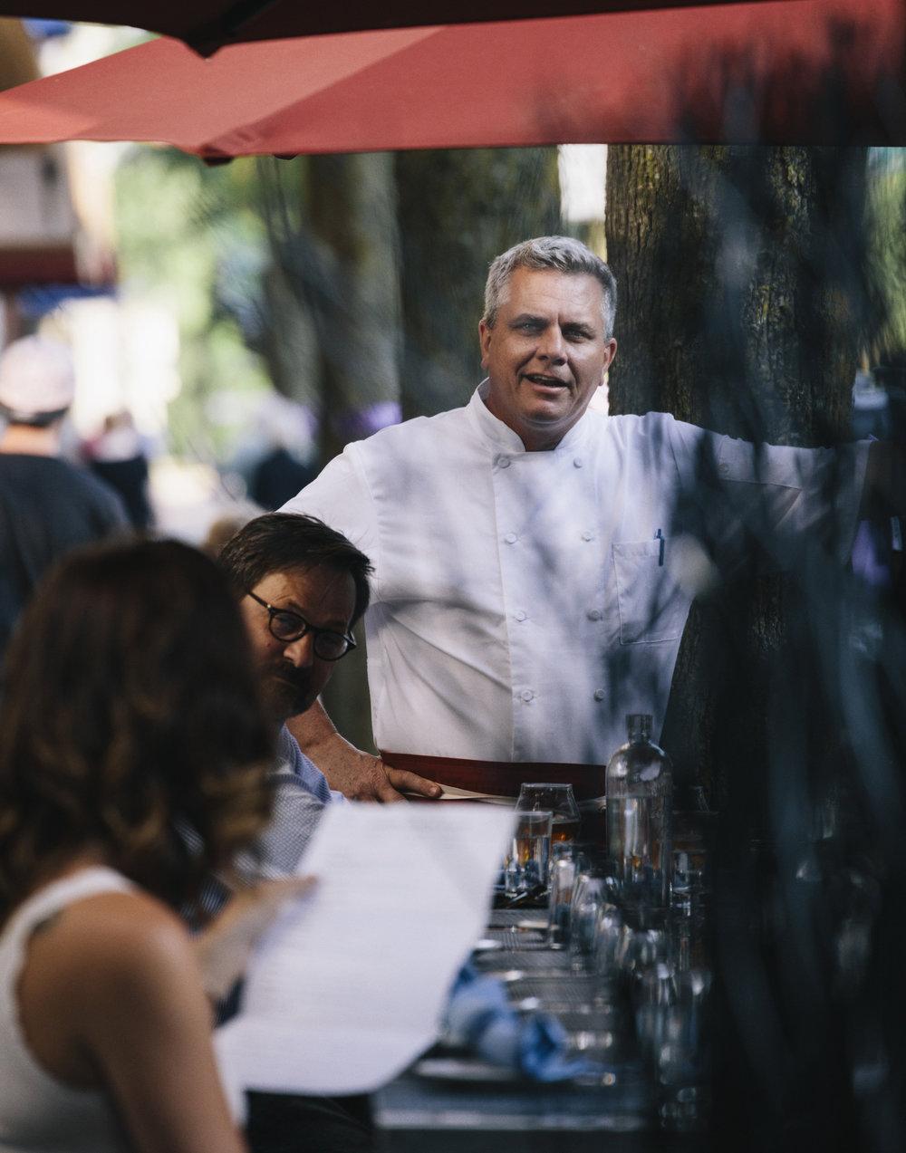 Gethin Thomas, founder and head chef at Henry Social Club.