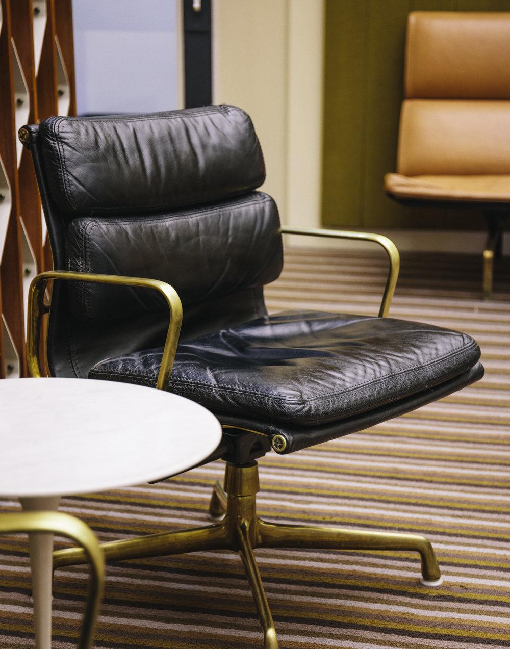 Irwin Miller's custom Eames chair