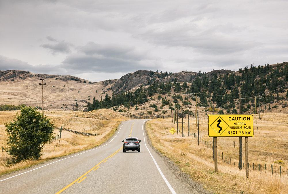 The Road: Mountain Man (Lexus) - Winkreative London