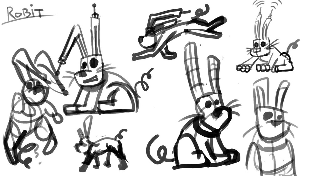 Robit - The Robot Rabbit