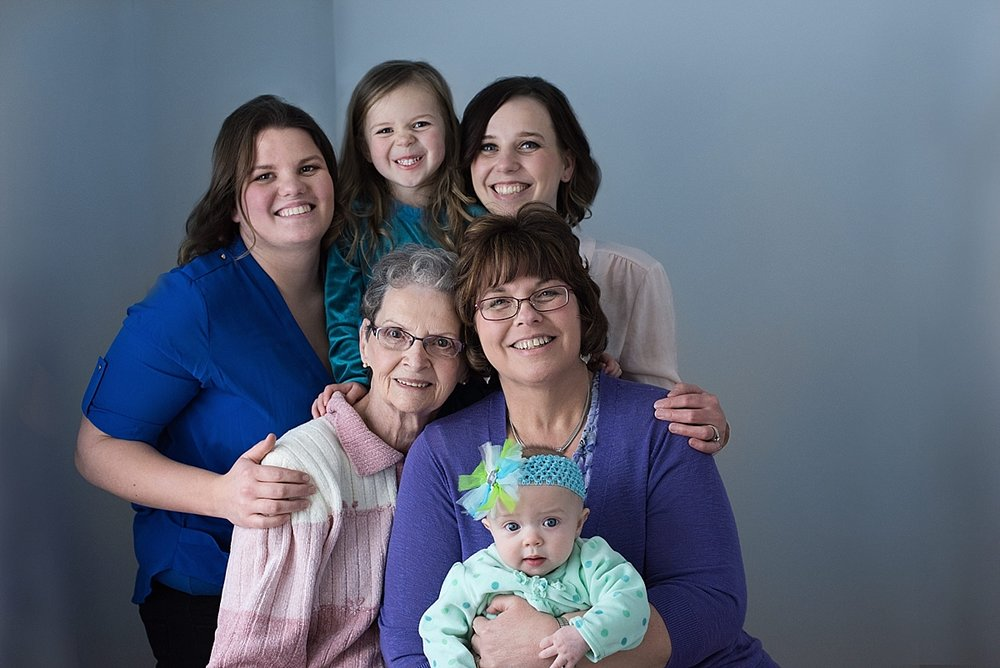 Generations/Mothers & Daughters - Heirloom Portraits to celebrate the women in your life