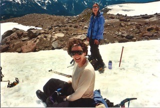 Climbing Rainier one year after finishing treatment
