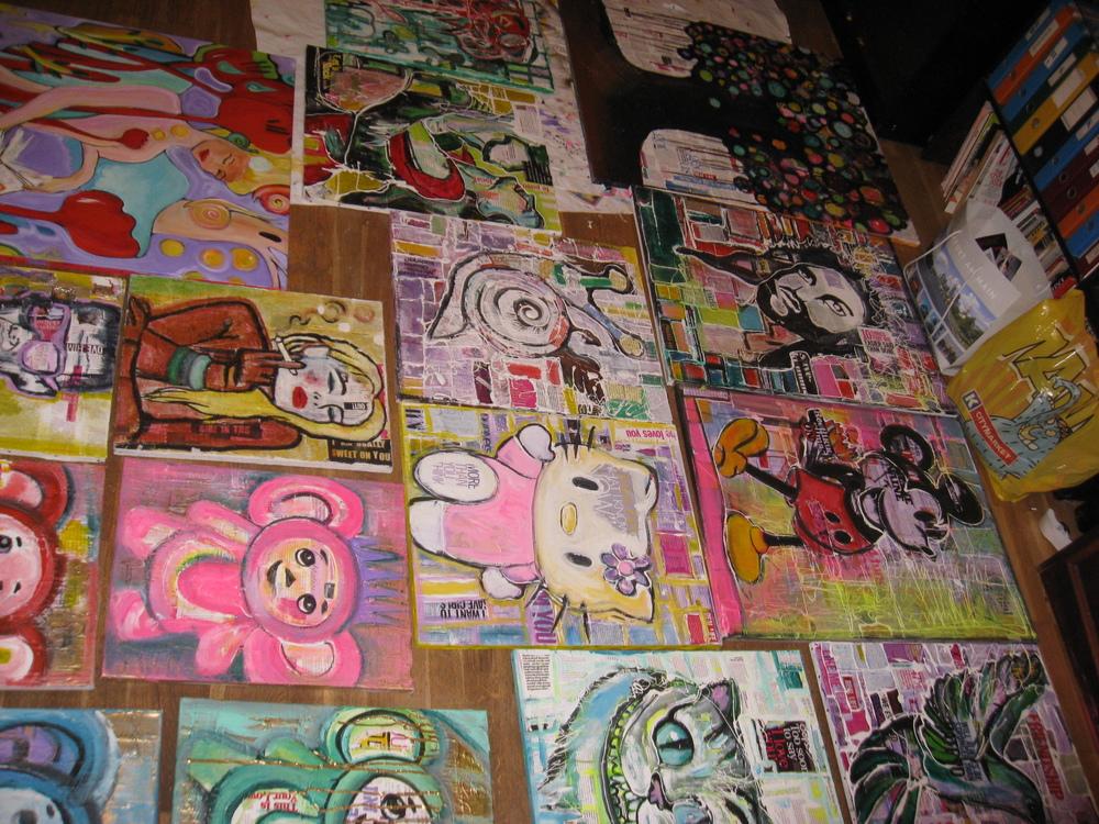 DO art SPEAK? - Series of artworks called