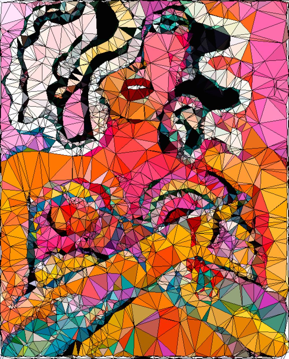 polygon femme