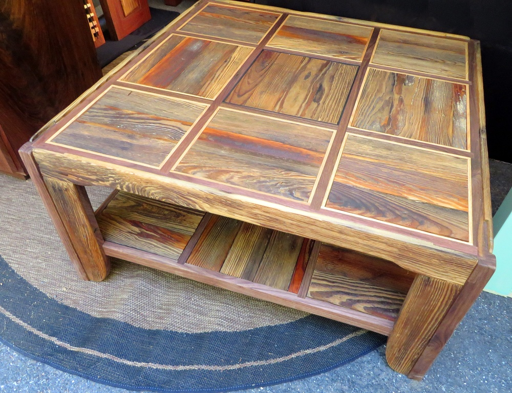"Floorboard Coffee Table (36""x36"")"