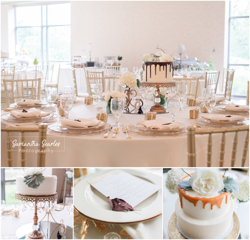 If you were wondering, yes, there is a cake on every table!
