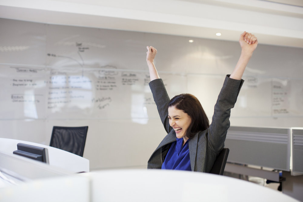 Celebrate when you pass the certification exam!