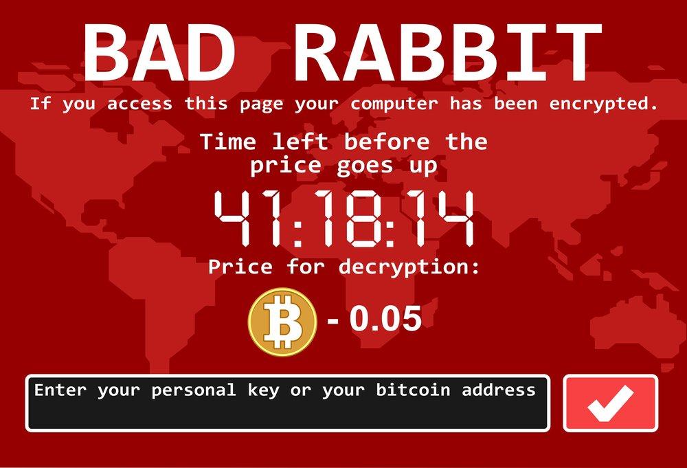 Ransomware - Bad Rabbit Example
