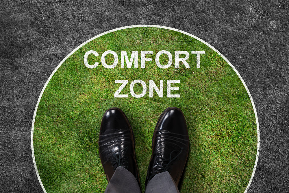Step outside comfort zone