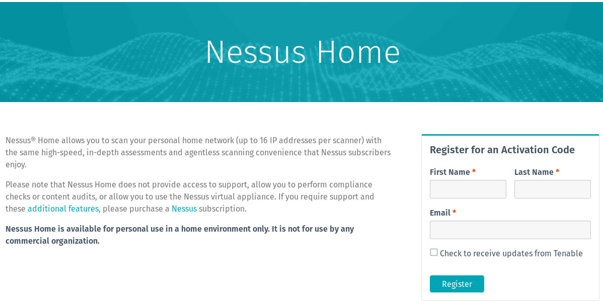 Vulnerability Assessment With Nessus Home - Part 1