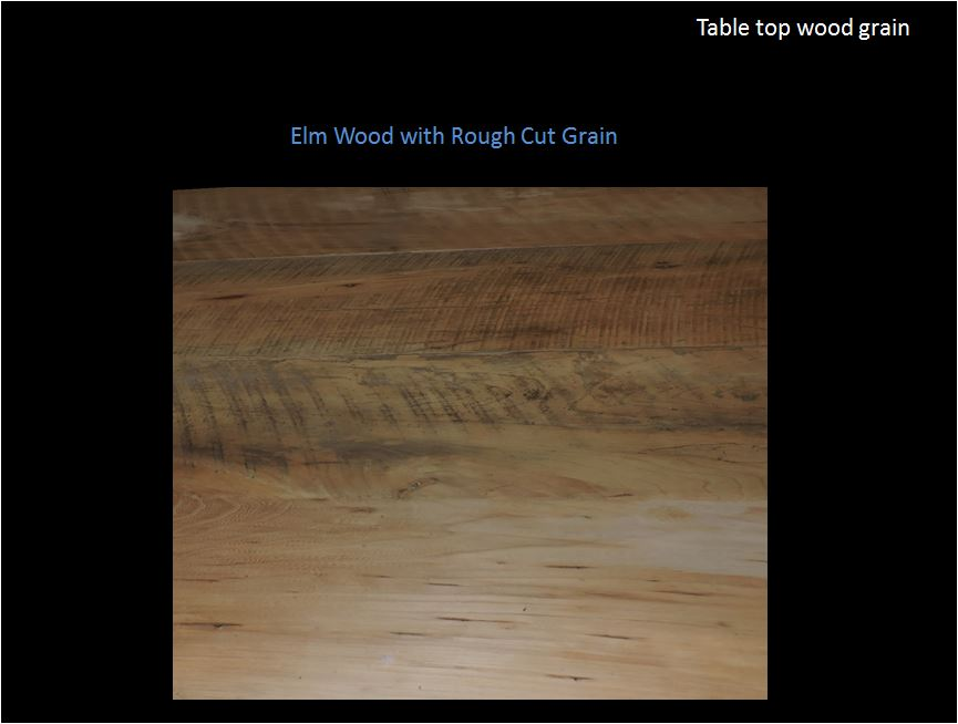 Wood Grain Elm Table