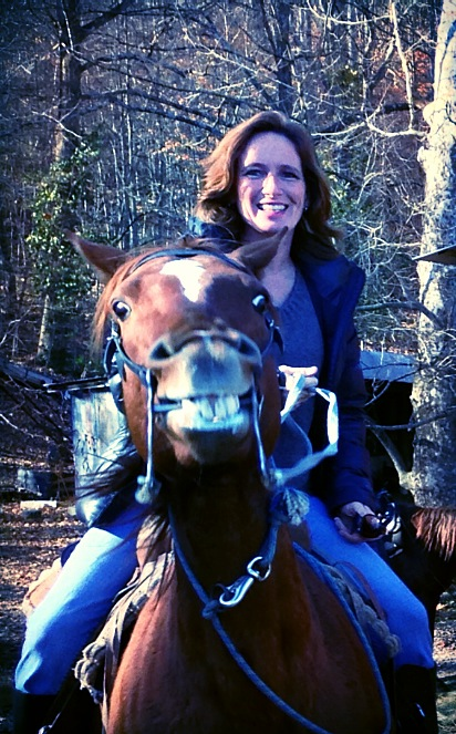 One of my great loves, horseback riding
