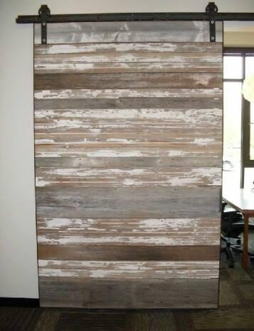 Charmant Reclaimed Horizontal Plank Barn Doors