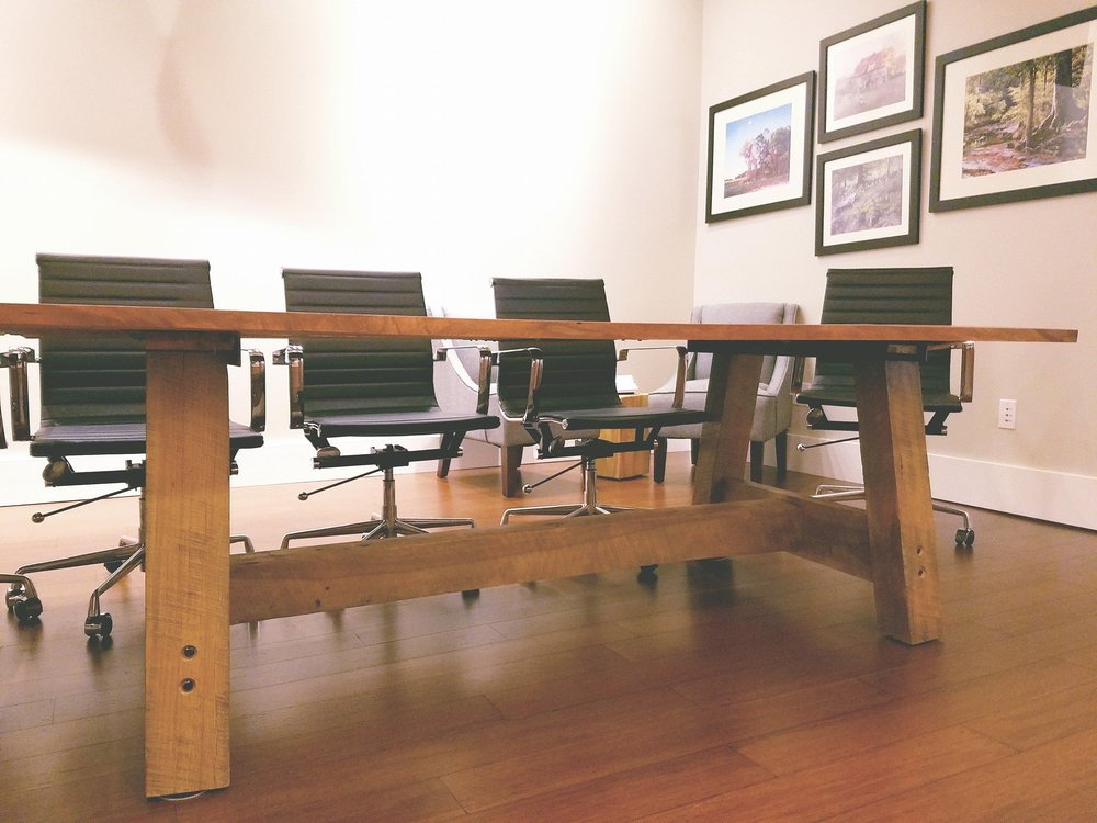 Hand Made Board Room Table