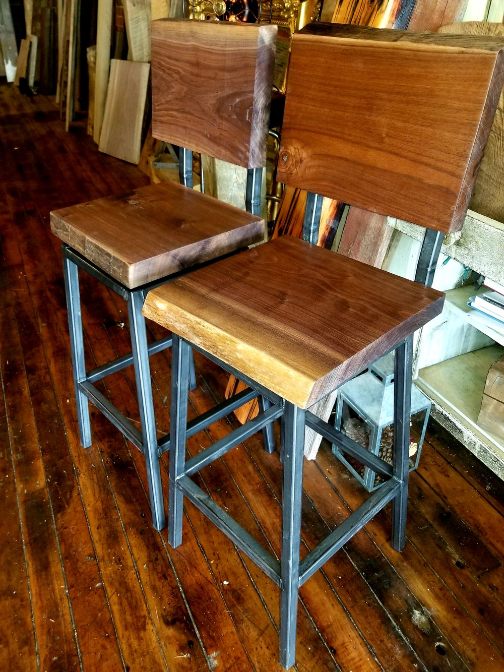 Design your own stools: Stationary or Swivel