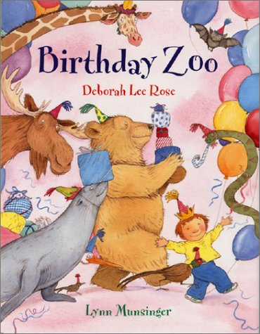 The idea for this book came from my son's request to have his birthday party at the zoo. I wondered what the zoo animals would think of that--and this question turned into how would the animals throw a birthday bash!