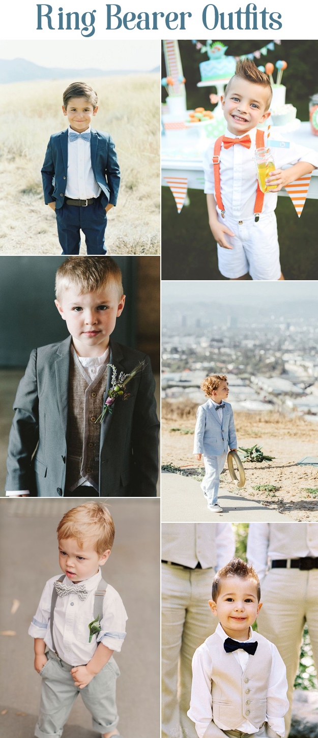 We Love These Adorable Ring Bearer Outfits   B&E Lucky in Love Blog