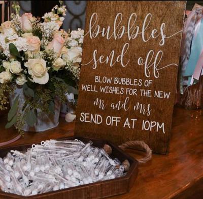 8 Fun Wedding Exit Toss Ideas | B&E Lucky in Love Blog