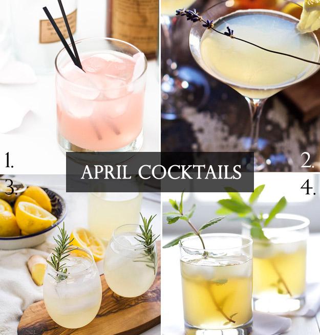 April Cocktails