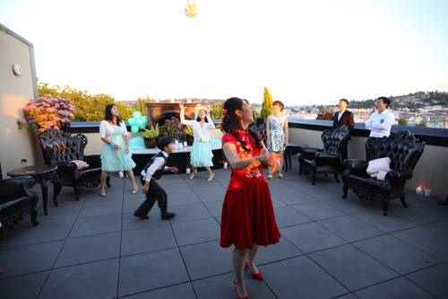 Seattle Rooftop Wedding