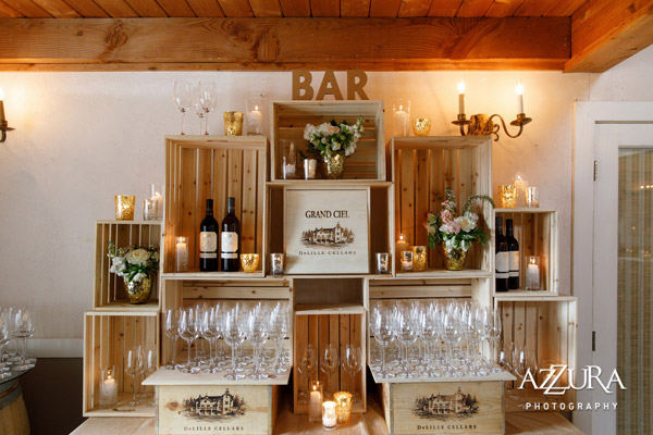 Weddings In Woodinville 2017 - DeLille Cellars | B&E Lucky in Love Blog