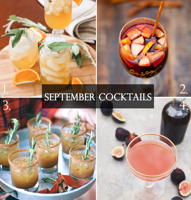 Fabulous Fall Cocktails to Serve during your Autumn Wedding | Lucky in Love Blog
