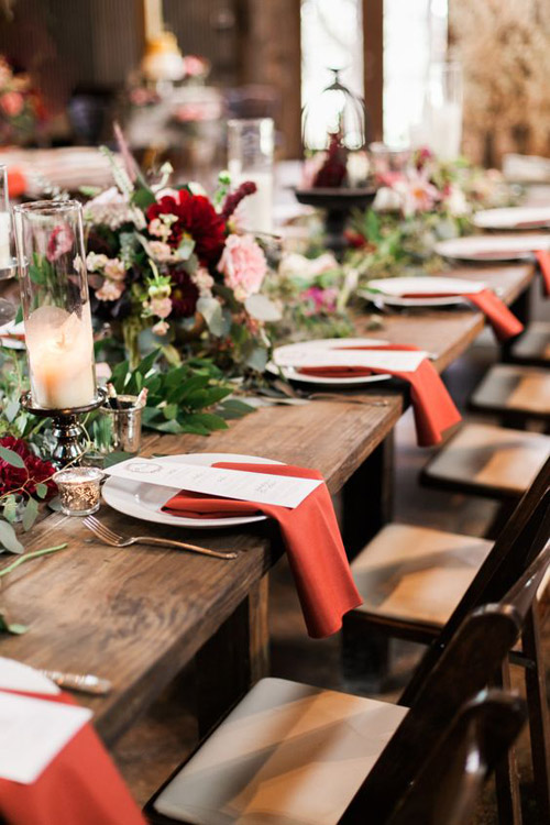 Aurora Red Wedding Inspiration | Lucky in Love Blog