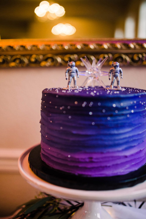Hollywood Schoolhouse Intergalactic Planetary Wedding Inspiration | Lucky in Love Blog