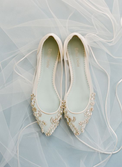 Fabulous and Fun Wedding Flats | B&E Lucky in Love Blog