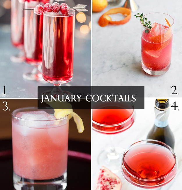 Cocktails to Get Your New Year Started | B&E Lucky in Love Blog