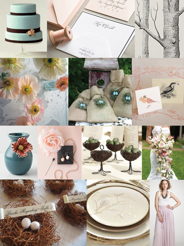 bird wedding theme