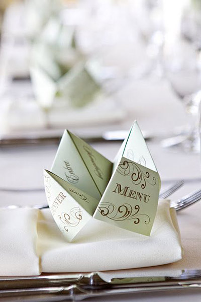 6 wedding menu card ideas that will wow your guests | Lucky in Love B&E Blog