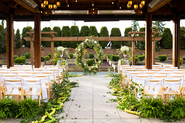 Weddings in Woodinville 2017 - Willows Lodge | B&E Lucky in Love Blog
