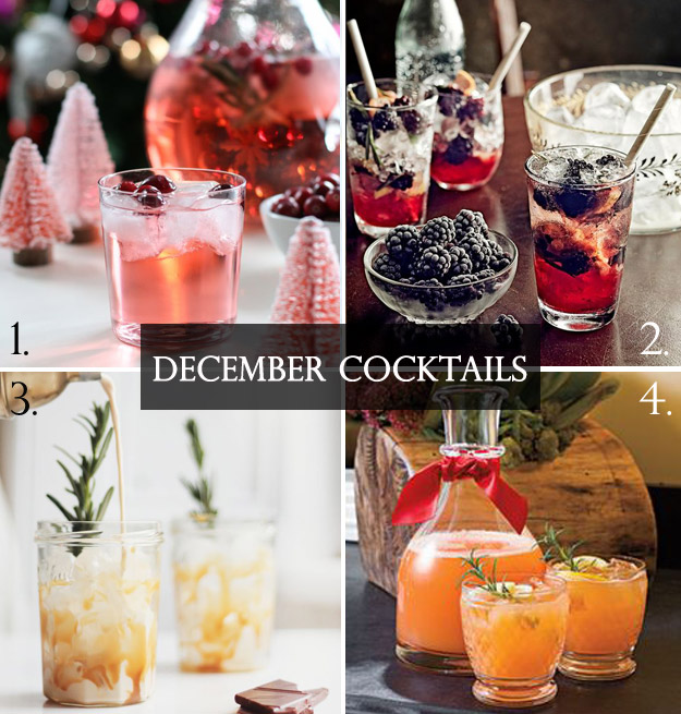Getting Merry and Bright with December Drinks