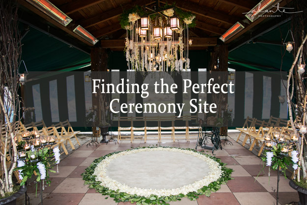 finding the perfect ceremony site