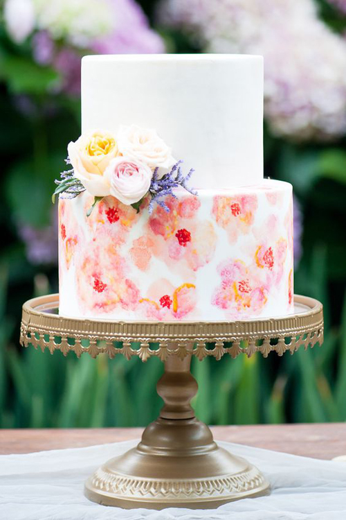 Gorgeous Garden Style Inspiration for a Summer Wedding | B&E Lucky in Love Blog