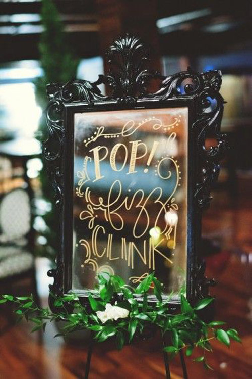 Classy New Years Eve Wedding Inspiration | B&E Lucky in Love Blog