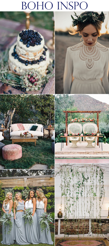 Beautiful Bridal Boho Inspo | B&E Lucky in Love Blog